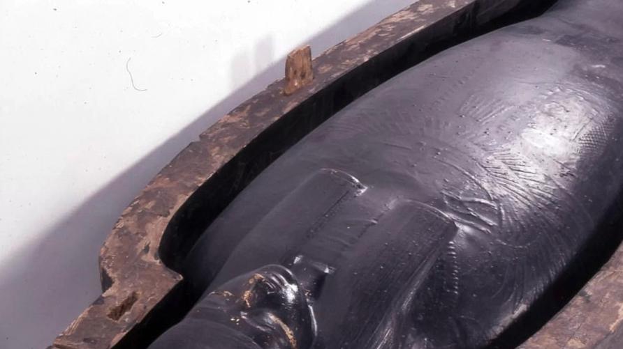 مادة سوداء غطا بها المصريون القدماء نعوشهم استطاع علماء معرفة مكوناتها