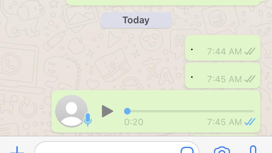 يلجأ كثيرون إلى رسائل واتساب الصوتية بدلا من النصية اختصار للجهد
