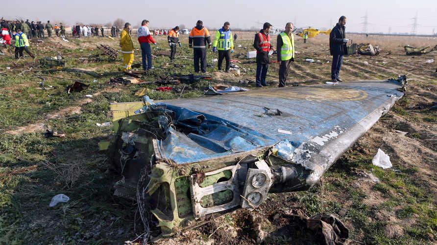 طهران تزعم أن الصندوق الأسود لن يقدم معلومات مهمة عن إسقاط الطائرة الأوكرانية