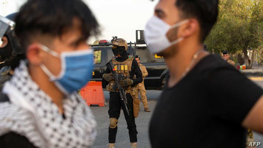 يراقب العراقيون الاحتجاجات غير المسبوقة التي أثارها مقتل جورج فلويد في الولايات المتحدة