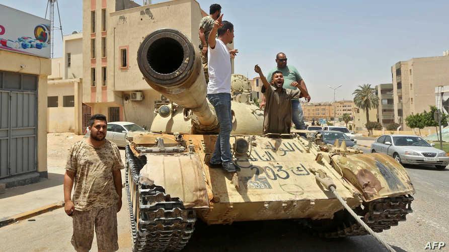 تأتي استعادة ترهونة عقب أقل من يوم واحد على استعادة السيطرة على طرابلس وضواحيها بالكامل