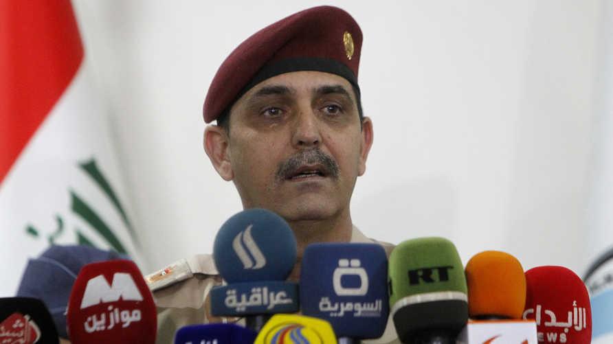 مدير العلاقات والإعلام في وزارة الدفاع العراقية يحيى رسول