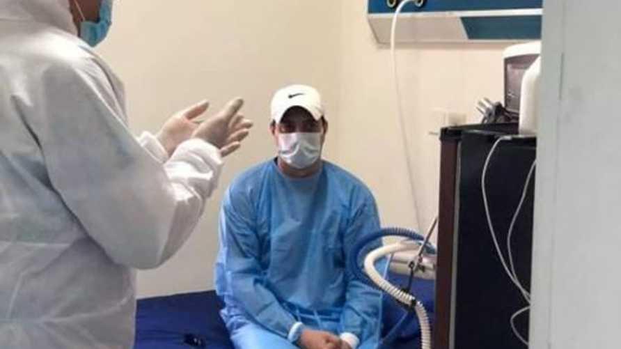 فيديو من داخل المشفى.. النجم العراقي أحمد راضي يتحدث عن إصابته ...