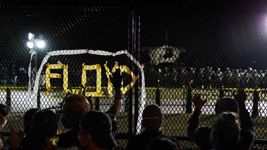 احتجاجات مستمرة في واشنطن ضد مقتل جورج فلويد