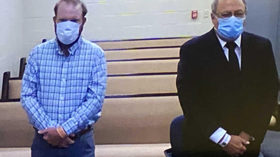 المحقق السابق غريغوري ماك مايكل (64 عاما) وابنه ترافيس (34 عاما) مثلا أمام المحكمة الخميس