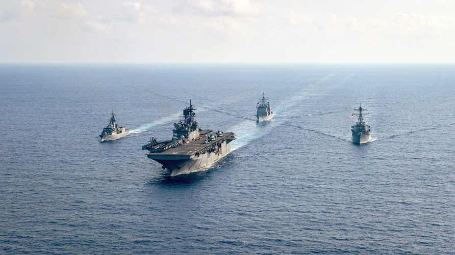 يختبر خصوم الولايات المتحدة حدود قواتها مستغلين انشغالها بمكافحة فيروس كورونا