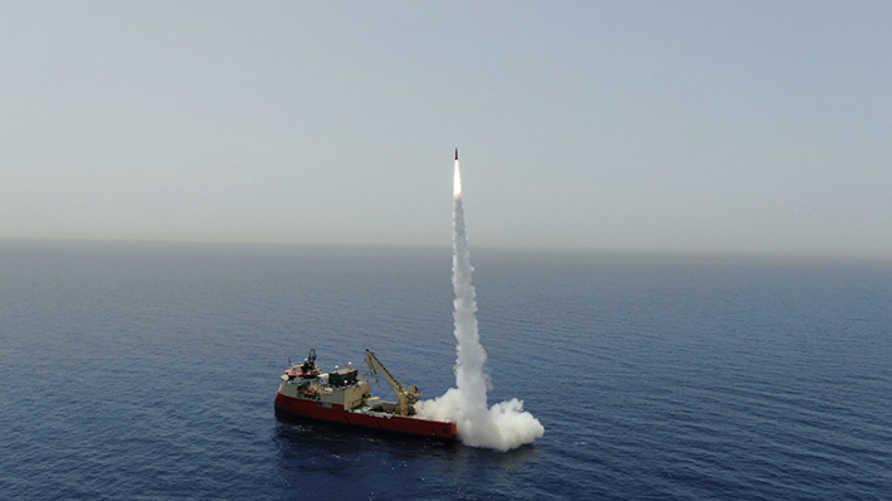 إسرائيل تعلن نجاح تجربة لإطلاق نار مزدوج لصاروخين في منظومة الأسلحة البرية والبحرية
