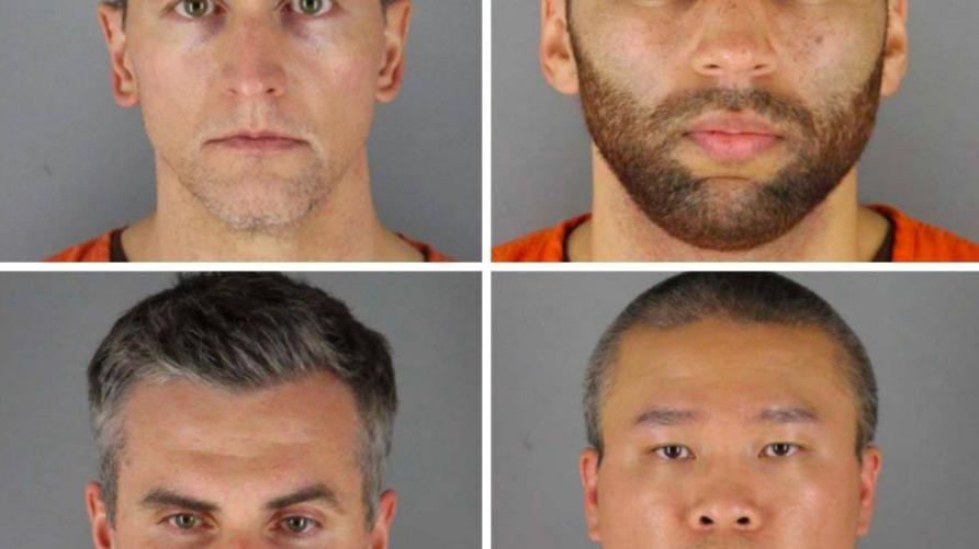 كل المشاركين في قتل جورج فلويد رهن الاعتقال بموجب اتهام جديد صدر من الادعاء العام في مينيسوتا