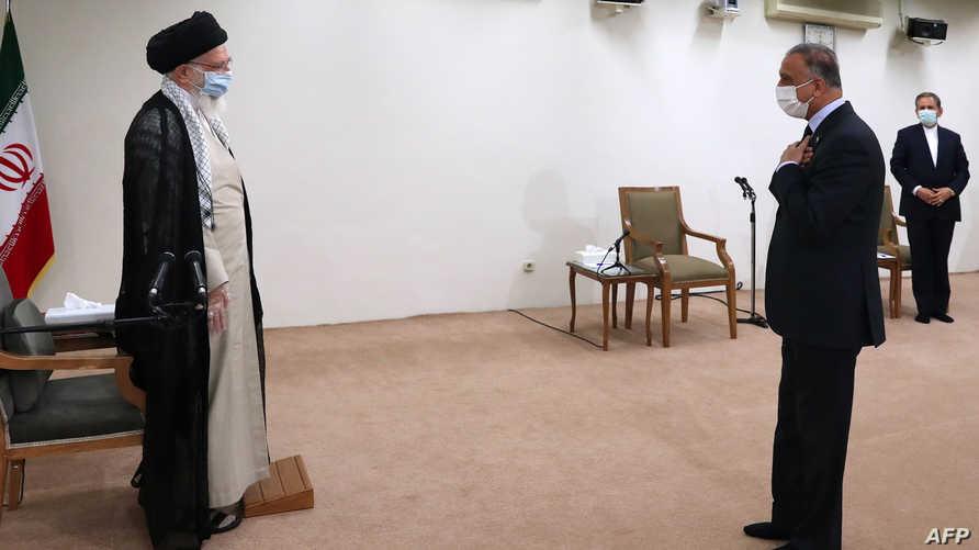 الكاظمي الخمنئي - ايران العراق