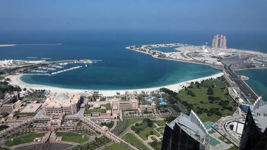 منظر عام للعاصمة الإماراتية أبو ظبي