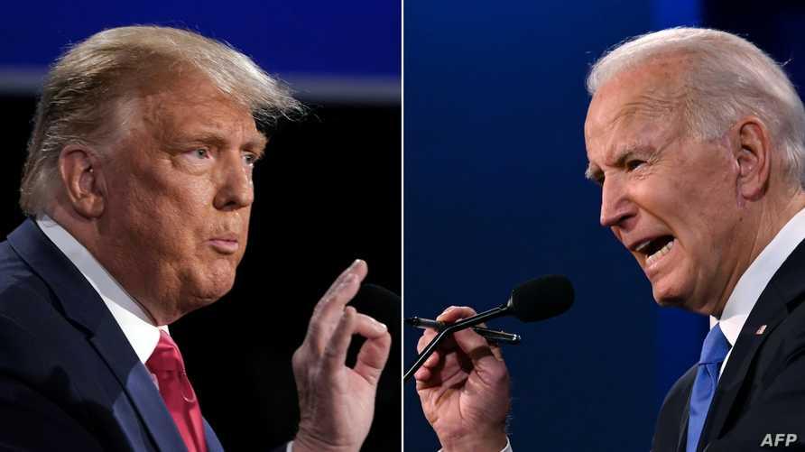 أحد المشاركين في الاستفتاء قال إن الاختيار بين ترامب وبايدن، أشبه بين الاختيار بين السياسة والشخصية
