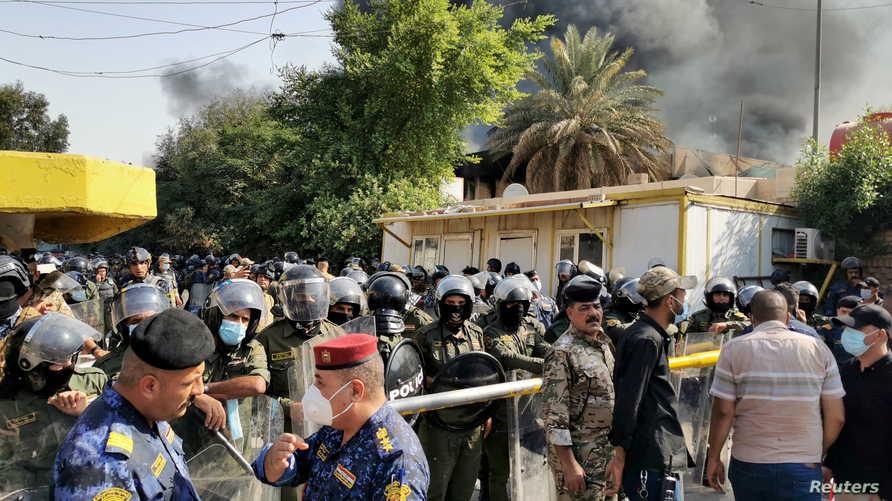 الكاظمي أكد اعتقال بعض المتورطين بالجرائم التي شهدها العراق السبت.