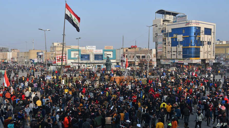 أكثر من 20 ناشطا بارزا قتلوا منذ اندلاع احتجاجات أكتوبر