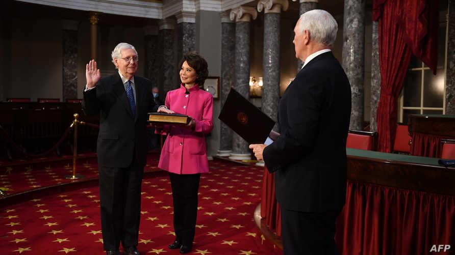 أعضاء الكونغرس الجدد حلفوا اليمين الدستورية وسط أجواء مشحونة