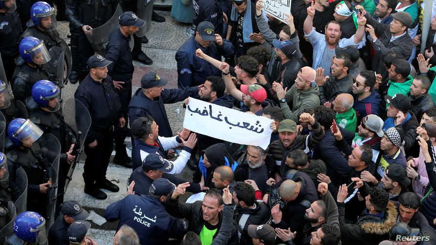 الجزائر- احتجاجات