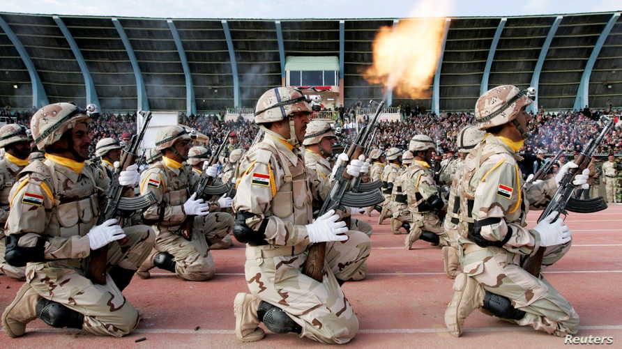 الجيش العراقي أطلق عملية الأسد المتأهب في شمالي البلاد ضد داعش في مارس الماضي