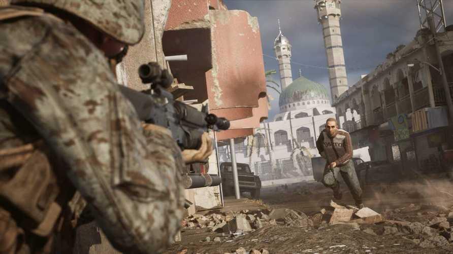 أحداث اللعبة تصور ستة أيام من الصراع عاشتها قوات المارينز الأميركية أثناء محاولتها استعادة الفلوجة من عناصر تنظيم القاعدة
