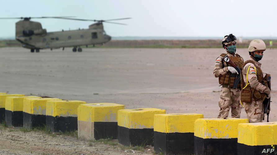 מספר הכוחות האמריקניים פחת בעירק לכ -2,500 חיילים במהלך החודשים האחרונים
