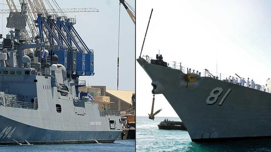 السفينتان الروسية والأميركية وصلتا ميناء بورتسودان في وقت متقارب