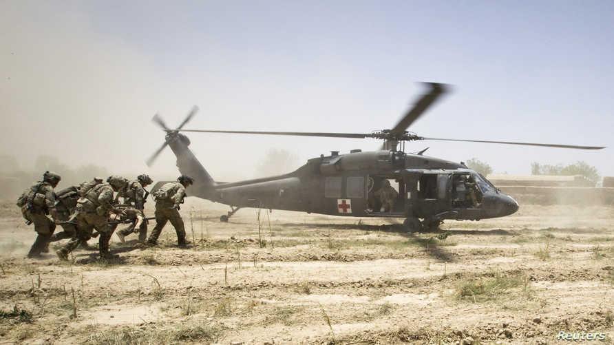 الانسحاب الكلي للقوات والمعدات الأميركية من أفغانستان سيبدأ من أول مايو المقبل