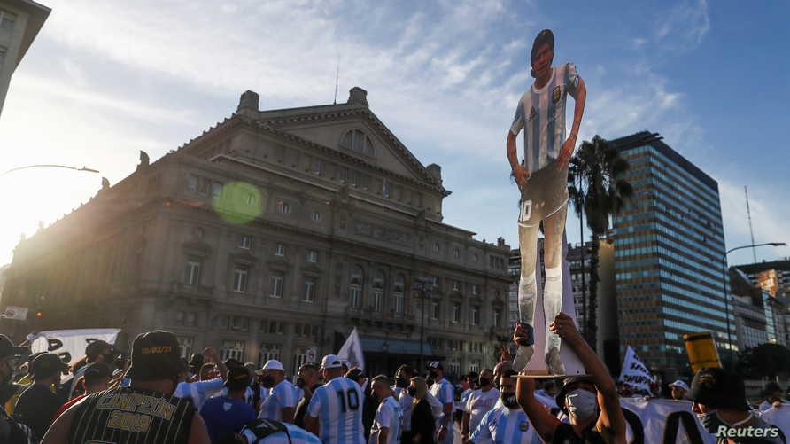 مارادونا توفي عن عمر يناهز الـ 60 عاما في نوفمبر 2020