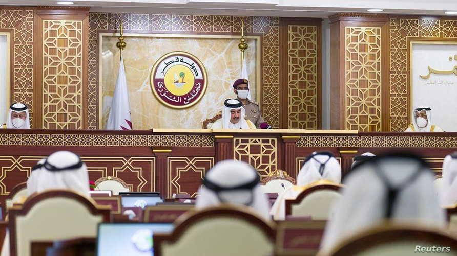 أمير قطر وافق على قانون الانتخابات