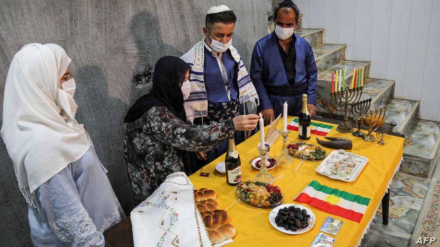 غالبية اليهود الذين يقطنون العراق غادروا