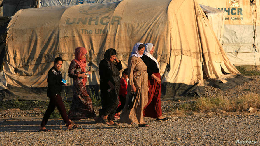 الإيزيديات تعرضن لاستعباد جنسي من قبل مقاتلي داعش في 2014