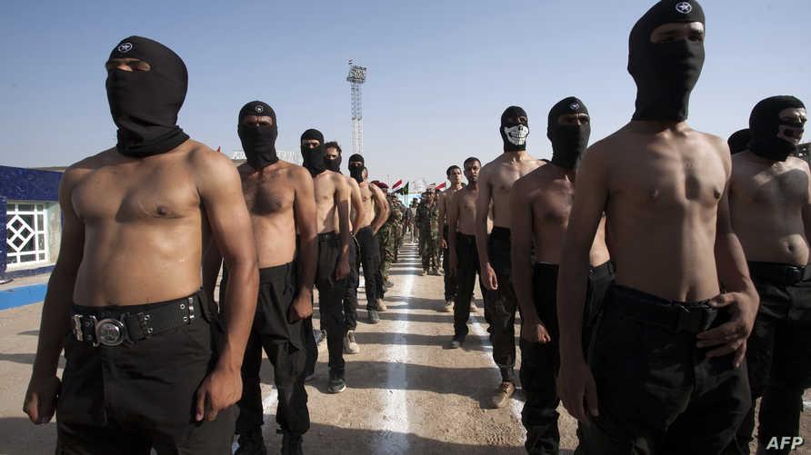 عناصر في الميليشيات العراقية