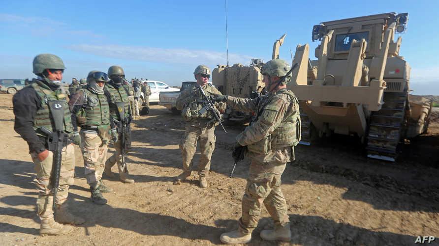 قوات أميركية في العراق