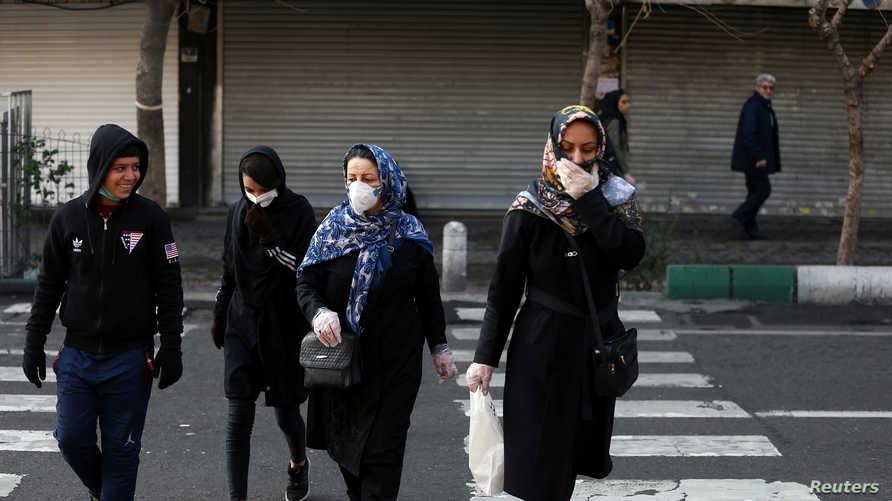 """41 % من مرضى """"كورونا"""" في إيران أصيبوا في المستشفيات"""