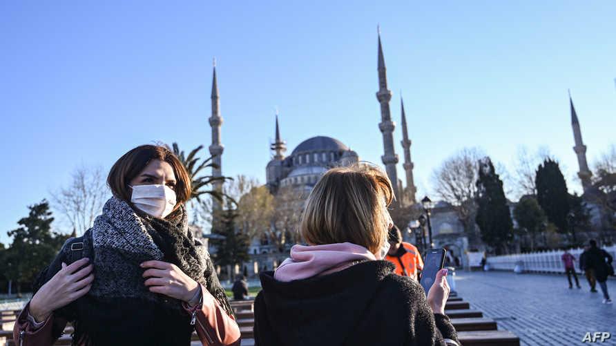 إصابات جديدة بكورونا في تركيا