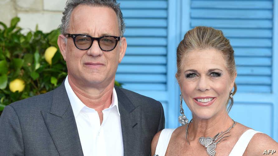 توم هانكس وزوجته ريتا