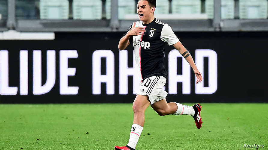 Soccer Football - Serie A - Juventus v Inter Milan - Allianz Stadium, Turin, Italy - March 8, 2020   Juventus' Paulo Dybala…