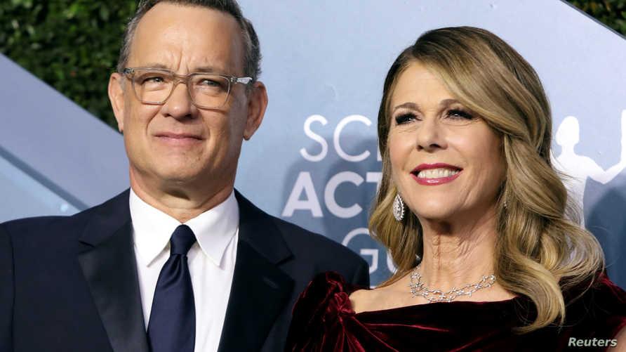 FILE PHOTO: 26th Screen Actors Guild Awards – Arrivals – Los Angeles, California, U.S., January 19, 2020 – Tom Hanks and Rita…
