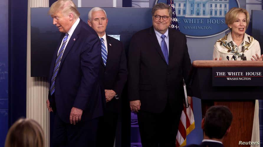 U.S. President Donald Trump quickly moves away from Ambassador Debbie Birx, the White House coronavirus response coordinator,…
