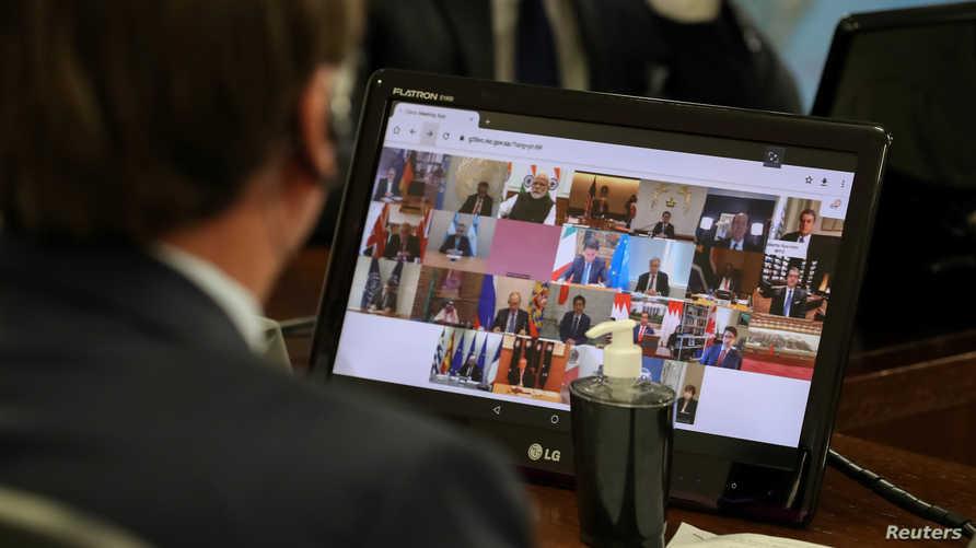 دول مجموعة 20 تعهدت بمواجهة تداعيات فيروس كورونا المستجد بجبهة موحدة وضخ 5 تريليونات دولار في الاقتصاد العالمي للحد من تبعات الإجراءات المتخذة لاحتواء الوباء
