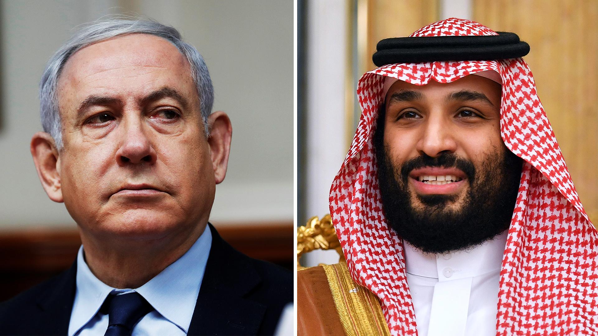 Image result for بن سلمان واسرائيل