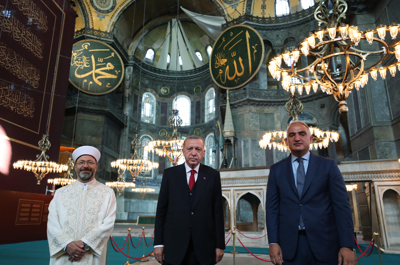 أول صلاة جمعة في آيا صوفيا منذ 86 عاما وتوقعات بحضور إردوغان