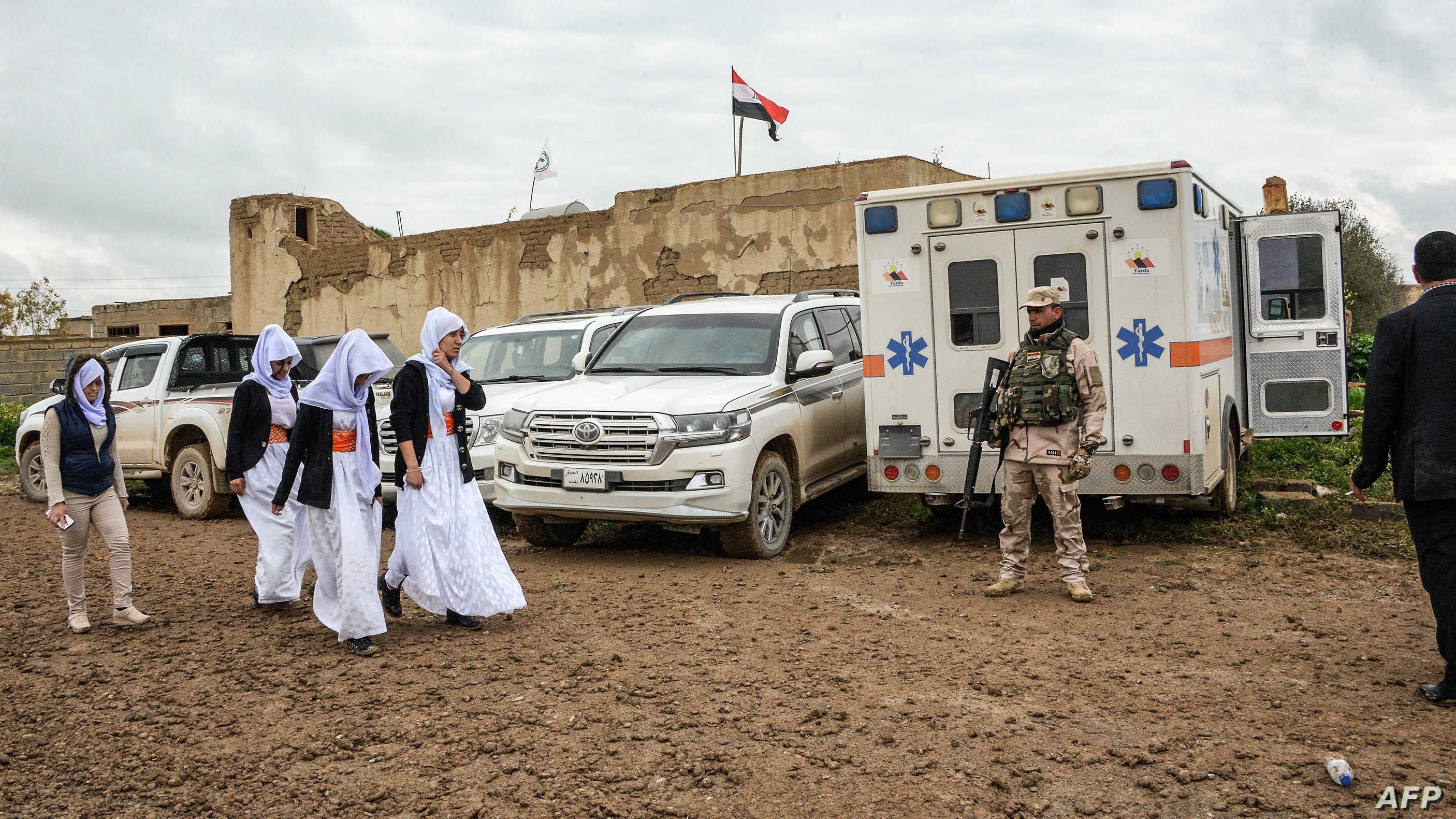 واشنطن ترحب باتفاق سنجار بين بغداد وأربيل   الحرة