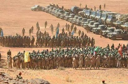 أرتال من الجيش السوداني في الحدود الشمالية