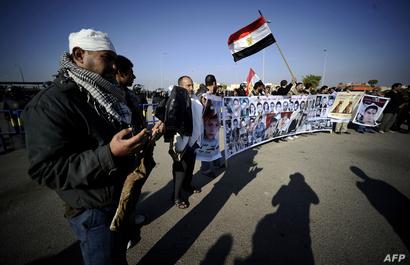 أقارب أشخاص قتلوا خلال المظاهرات