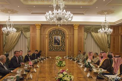 اجتماع كارتر بوزراء الدفاع الخليجيين