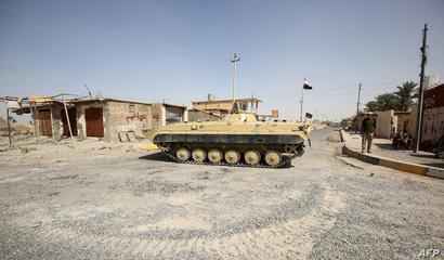 قوات عراقية في الشرقاط بعد تحريرها من تنظيم داعش