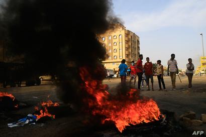 احتجاجات شعبية-الخرطوم
