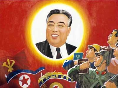مؤسس كوريا الشمالية كيم إل سونغ