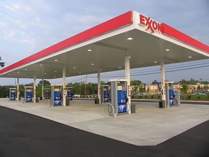 محطة وقود إكسون