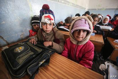 حرمت الفتيات في الموصل من التعليم بسبب سيطرة داعش على المدينة منذ 2014