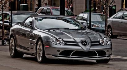 سيارة مرسيدس الفخمة
