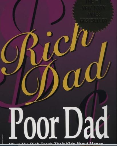 كتاب الأب الغني والأب الفقير
